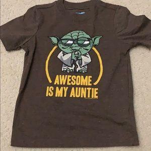 Boys Yoda tshirt
